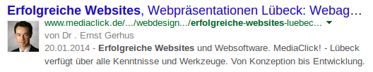 Google Authorship Markup